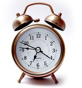 E DEAL Analog Copper Clock