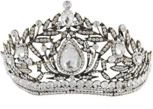 Ulike2 Amazing Kingqueen Crown Simulated Red Ruby Stone Sapphire