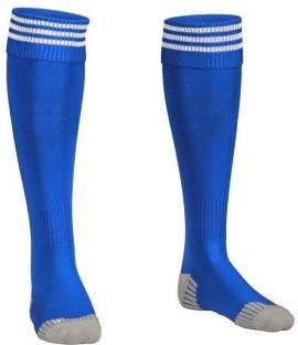 National Sports Blue Sport Football Socks Knee High Protection Socks Football  Kit a39149b037040