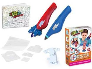 Ido3d Drawing Activity Set With 8 Pen Build Your Own 3d