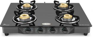 Ideale Quatre Steel Manual Gas Stove