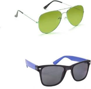 ab85c294882a Buy Decode Aviator Sunglasses Black For Men   Women Online   Best ...