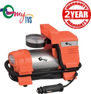myTVS 100 psi Tyre Air Pump for Car & Bike Price in India
