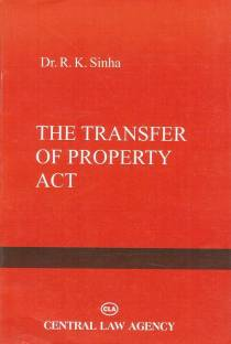 Central Law Agency's The Transfer of Property Act, 1882