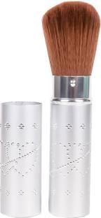 Dream Maker Retractable Face Powder Blush Brush (Silver)