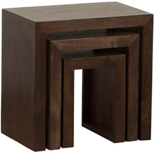 The Attic Solid Wood Nesting Table