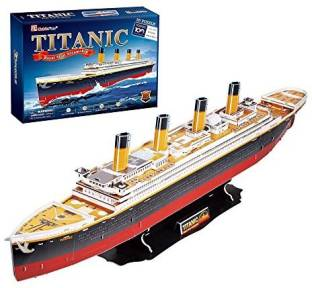dd827246 Generic Dimart Educational 3D Model Movie Titanic Ship Diy Toy 30 ...
