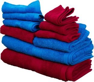 flipkart smartbuy 500 gsm combo bath towels