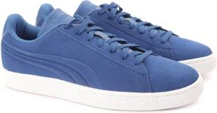 95ba4f65410d Puma Suede Classic Embossed Sneakers For Men - Buy QUIET SHADE Color ...