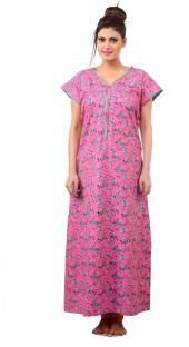 1fbd21d8f1 Farry Women s Nighty - Buy green Farry Women s Nighty Online at Best ...