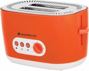 WONDERCHEF Regalia Toaster - Orange 780 W Pop Up Toaster