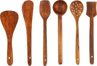 Kombuis Kitchenware Wood Ladle