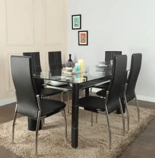 Royaloak Geneva Gl 6 Seater Dining Set