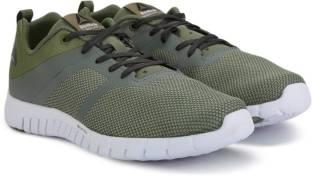 b7d0ed681baad1 REEBOK ZQUICK LITE 2.0 Running Shoes For Men - Buy GREEN GREY COAL ...