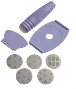 Nail arts kit buy nail arts tools online flipkart alpyog nail art stamping kit prinsesfo Choice Image