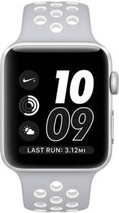 APPLE Watch Nike+ 42 mm Silver Aluminum Case with Pure Platinum / White Nike Sport Band