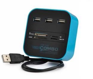 ROQ USB-HUB Combo USB Adapter