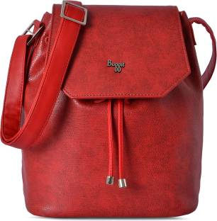 Baggit Women Red Pu Sling Bag