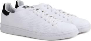 adidas originals stan smith white & black sneakers