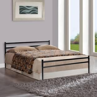 Furniturekraft Palermo Metal Queen Bed
