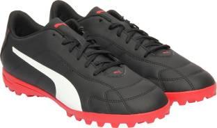 Puma ONE 17.4 TT Football Shoes For Men - Buy Puma White-Puma Black ... 40325411e
