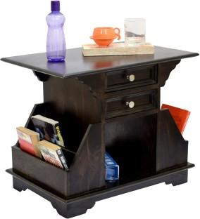 TimberTaste BALA Solid Wood Side Table