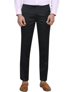 402084f76c8 Shaurya-F Slim Fit Men Dark Blue Trousers - Buy Shaurya-F Slim Fit ...