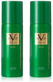 8648e12b99a Versace Italia 19V69 IMPULSE All Over Body Spray - 150ml (Pack of 2) Body