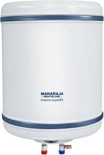 MAHARAJA WHITELINE 25 L Storage Water Geyser (Classico Super 25 (WH-132), White and Blue)