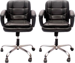 Perfect Homes By Flipkart Warren Leatherette Office Arm Chair
