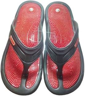 b94b536fd6bc Unistar Acupressure GH-01 Red 7 Slippers - Buy Red Color Unistar ...