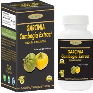 biosys Garcinia Cambogia Extract - (60 Capsules) 800 mg Per Serving,70% Hydroxycitric Acid (HCA), 100 % Veg, Pure & Natural Weight Management & Appetite Suppressant Supplement - Weight Loss/Dietary Supplement