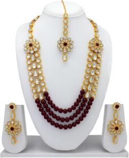 Designer Kundan jewellery set : Costume Jewellery, - Costume ...