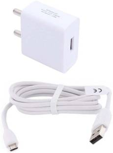 TROST 2.1 A Micro USB (1 mtr) 1 A Mobile Charger with Detachable Cable