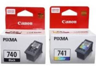 Canon 740   741 [Set of 2] Tri Color Ink Cartridge