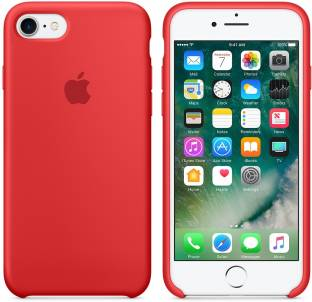 Your Deal Back Cover for Apple iPhone 7 Red, Silicon
