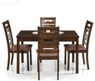 RoyalOak Rocco Solid Wood 4 Seater Dining Set