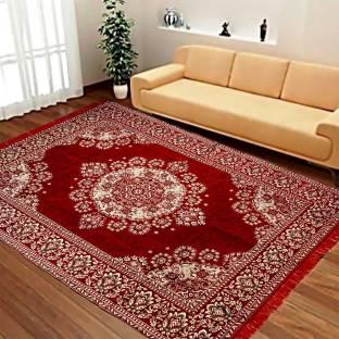 Achintya Multicolor Velvet Carpet