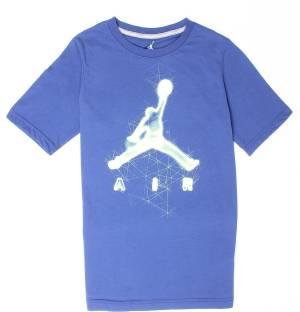 Jordan Boys Printed Cotton Nylon Blend T Shirt