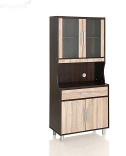 RoyalOak Milan Engineered Wood Crockery Cabinet
