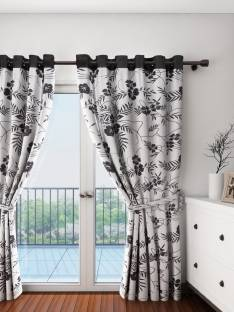 Swayam Cotton Door Curtain 228 Cm 7 Ft Pack Of 2