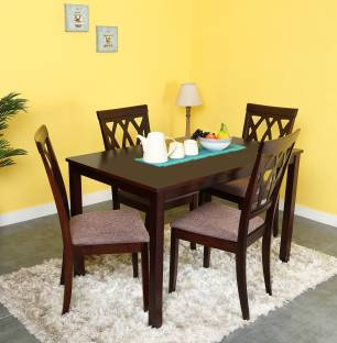 furniture kitchen table. @home by nilkamal peak solid wood 4 seater dining set furniture kitchen table t