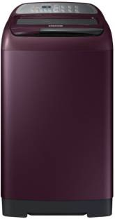SAMSUNG 7.5 kg Fully Automatic Top Load Maroon