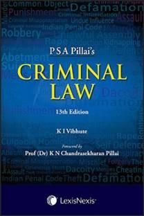 LexisNexis PSA Pillai's Criminal Law by Dr. K. I. Vibhute