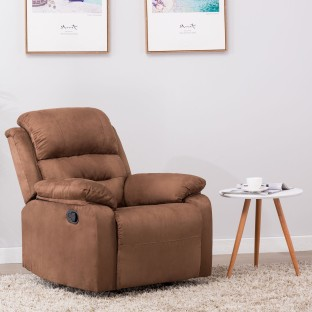 Perfect Homes By Flipkart Wayne Single Seater Fabric Recliner