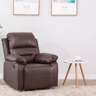 Perfect Homes By Flipkart Wayne Single Seater Leatherette Recliner