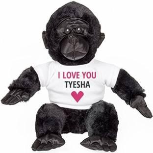 62abc1f4b000 Funnyshirts Org I love You Tyesha Funny Valentine s Gift Plush - 8 inch