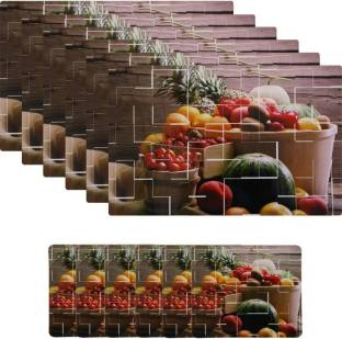 Shubheksha Rectangular Pack Of 12 Table Placemat