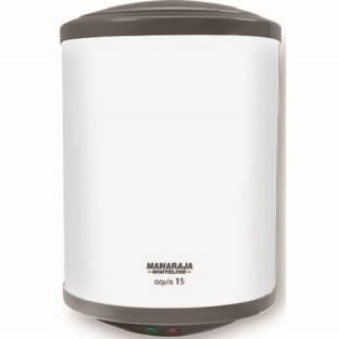 MAHARAJA WHITELINE 15 L Storage Water Geyser (Aquis, White)