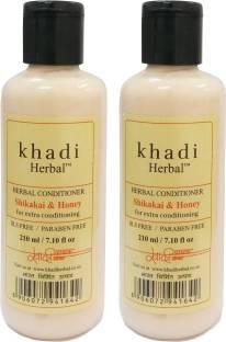Khadi Herbal Shikakai & Honey Conditioner (SLS & Paraben Free)